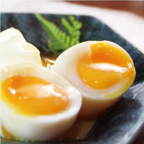 半熟だし卵